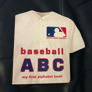 •book• kids' baseball ABC's board book [MLB]
